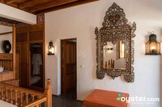 The Standard Double Room at the Melenos Lindos Hotel Double Room, Hotel Reviews, Mirror, Furniture, Home Decor, Decoration Home, Double Bedroom, Room Decor, Mirrors