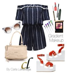 """""""fashion"""" by carla1509 on Polyvore featuring WithChic, Miu Miu, Givenchy, Thierry Lasry, Yves Saint Laurent and Clinique"""