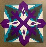 Artsonia Art Exhibit :: Fourth Grade-Cut Paper Radial Symmetry