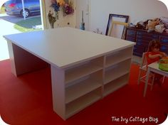 This is it!!! The way to incorporate a desk and work area!!