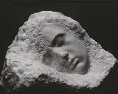 "CONSTANTIN BRANCUSI (1876-1957) Romanian sculptor, painter, photographer working in Paris. Pioneer of modernism and patriach of modern sculpture. Le Sommeil, (Sleep). c. 1920 ""Work like a slave, command like a king, create like a god!"" https://www.khanacademy.org/humanities/art-1010/art-between-wars/intl-avant-garde/v/brancusi-bird-in-space-1928"