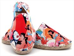 Making feet beautiful, String Republic is the creation of graphic artist Stéphane Bucco. 'The amazing revival of the flip flops and the clogs remind him of the espadrilles his grand-father used to offer him every summer when he was a kid'.