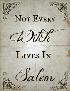 Find images and videos about witch, wicca and salem on We Heart It - the app to get lost in what you love. Salem Halloween, Halloween Quotes, Holidays Halloween, Halloween Crafts, Happy Halloween, Halloween Halloween, Halloween Phrases, Halloween History, Halloween Printable