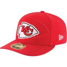b6b2f6f3892d9e New Era Men's Kansas City Sideline 2016 59Fifty On-Field Fitted Hat Nfl  Kansas City