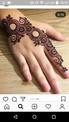 New Indian Bridal Mehndi Hands India Ideas Henna Tattoo Designs Simple, Finger Henna Designs, Simple Arabic Mehndi Designs, Full Hand Mehndi Designs, Mehndi Designs For Beginners, Mehndi Designs For Girls, Wedding Mehndi Designs, Beautiful Mehndi Design, Latest Mehndi Designs