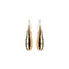 Bolitos Earrings Gold   Nina Kastens Jewellery   Wolf & Badger