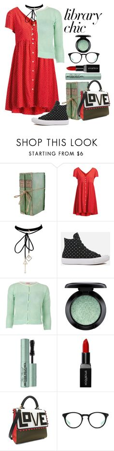 """""""Library Chic"""" by loves-elephants ❤ liked on Polyvore featuring Ralph Lauren, Converse, Palava, MAC Cosmetics, Too Faced Cosmetics, Smashbox, Les Petits Joueurs and NIKE"""