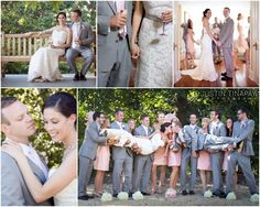Rustic wedding at the water witch club in highlands nj