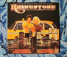 Dolly Parton and Mike Post Rhinestone Original Soundtrack (1984, Country Soundtrack RCA ABL1-5082  LP Vinyl Record)$18