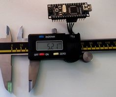 Reading Digital Callipers with an Arduino / USB