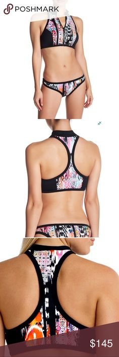 c571f79f1e16a Seafolly Beach Gypsy Multicolor Scuba 2pc Bikini New with tags