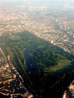 Hyde Park vanuit de lucht