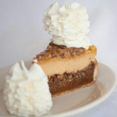 Pumpkin Pecan Pie Cheesecake