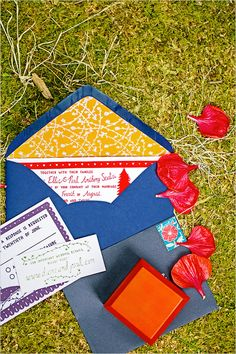 Latin American wedding ideas #brightweddingcolors #weddinginvites