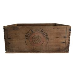 Crate Collection Here Vintage Antiqued Wooden Box French Wine Chest