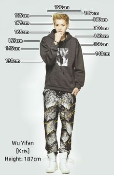 Height Chart : Kris