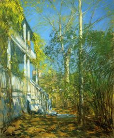 Summer at Cos Cob - Childe Hassam - WikiPaintings.org