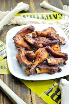 Bones & Body Parts--Campiness aside, these are a surefire hit. Sweet, sticky, spicy, savory... They've got everything you need for the perfect Halloween party food | www.iatethewholething.com