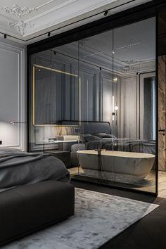 Apartment Projects, Apartment Interior, Apartment Design, Luxury Furniture Brands, Living Room Windows, Classic Interior, Bathroom Interior Design, Modern Classic, Furniture Design