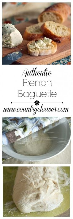 Authentic French Baguette - Easier than you ever thought!! www.countrycleaver.com
