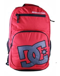 DC Shoes Detention Backpack / Red