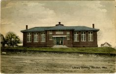 Houston Carnegie Library in Chickasaw County, Mississippi.