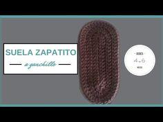 SUELA ZAPATITO BEBE A GANCHILLO | CROCHET - YouTube