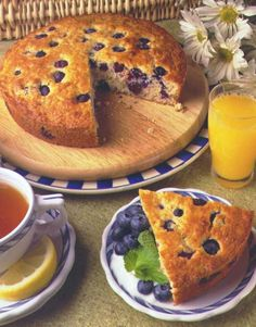 Learn how to make a blueberry breakfast cake and other blueberry recipes from the Blueberry Council. Kick your breakfast up a notch with this wonderful blueberry breakfast cake