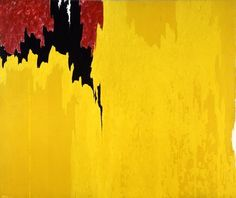 """Clyfford Still - 1957 - untitled """"I never wanted color to be color. I never wanted texture to be texture, or images to become shapes. I wanted them all to fuse together into a living spirit."""" - Clyfford Still      """"Still makes the rest of us look academic.""""   Jackson Pollock    """"When I first saw a 1948 painting of Still's … I was impressed as never before by how estranging and upsetting genuine originality in art can be.""""   Clement Greenberg, art critic"""