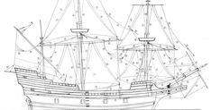 ~ May Flower Model ship~