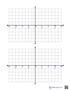 Printables Trig Graphs Worksheet pinterest the worlds catalog of ideas trigonometric graph paper minus 2 pi to plus pi