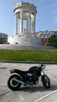 My bike at Passetto  Ancona, Italy
