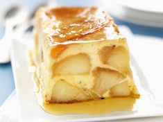 Caramel apple terrine: discover the cooking recipes of Femme Actuelle Le MAG Apple Dessert Recipes, Homemade Cake Recipes, Apple Recipes, Sweet Recipes, Cookie Recipes From Scratch, Easy Cookie Recipes, Thumbprint Cookies Recipe, Sugar Cookies Recipe, Chocolate Chip Cookies
