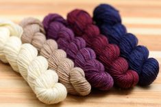 This fingering-weight wool is very fine, and is just as soft as our imported Merino. Our mini-skeins come in sets of 5 carefully chosen hand-dyed colours, perfect for colourwork or gradient patterns. Sources Of Fiber, Fair Isle Pattern, Knitted Slippers, Finger Weights, Rustic Feel, Hand Dyed Yarn, Needles Sizes, Merino Wool Blanket, Colours