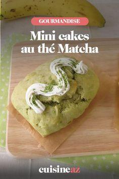 Une recette facile de petits cakes salés maison au thé Matcha. #recette#cuisine #patisseriesalee #cake #thematcha