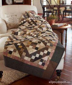 Chocolate Sparkle Quilt Pattern
