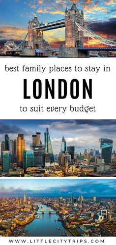 Planning a trip to London with kids? Where do you find the best family-friendly hotels & accommodation in London? An area guide plus our hand-picked favourites to suit every budget Travel With Kids, Family Travel, London With Kids, Hotels For Kids, European Destination, Going On Holiday, London Hotels, London Travel, Hotels And Resorts