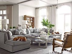 Living room layout with sectional fabulous grey sectional decor family room design ideas sofa decorating tips . My Living Room, Home And Living, Living Room Decor, Living Spaces, Cozy Living, Grey Sectional, Sofa Couch, Gray Sofa, Couches