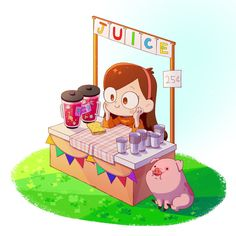 Mabel. Mabel juice stand is buy some!