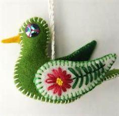felt ornaments - Bing Images