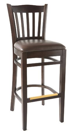 The Eco Hybrid Barstool by SeatingExpert is made out of solid European beech wood, it is assembled with mortise and tenon construction and metal reinforcements for added durability. A sturdy barstool, economically priced - it is designed especially for commercial use. Available with wood or upholstered seat of your choice.
