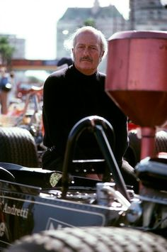 The legand that is Colin Chapman at the United States Grand Prix 1977 #F1 #Formula1 #FormulaOne