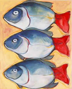 Penelope Hope Deyhle: Collections : Fish Series