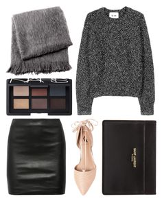 """""""fine"""" by grey-eyes ❤ liked on Polyvore featuring From the Road, NARS Cosmetics, Acne Studios, The Row, Ava & Aiden and Yves Saint Laurent"""