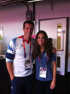Team GB rower Greg Searle shared a photo of him and the Duchess taken at yesterday's handball.