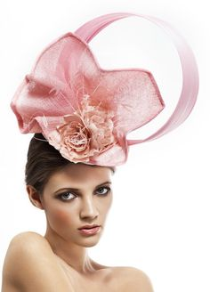 'Desert Willow'  available at www.alexandraharpermillinery.com