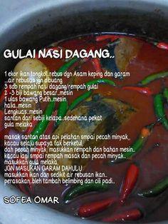 Gulai nasi dagang (ikan tongkol)