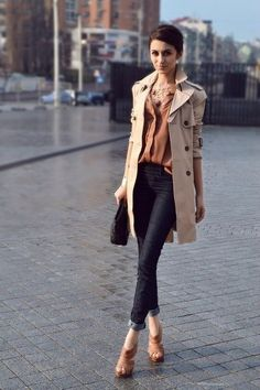 #effortless #trenchcoat #outfit for #office #wear, #chic and #simple - MyBeautyCompare Pinterest for more #work #fashion #idea #inspiration #fbloggers #professional #woman #hair #makeup #outfit #trendy #stylish #chic #sexy #glam #business #career #success #girl #accessories #intern #look #effortless #street #celeb #itgirl #shirt #pants #suit #skirt #pencil #flare #eye #lips #bag #perfect #gorgeous #pretty