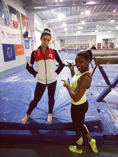 11 Times Aly Raisman and Simone Biles Were