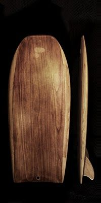 Flama Micro Simmons - a wooden board in the quiver is a definite requirement for any self respecting surfer.